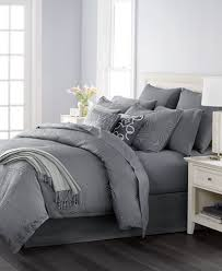 Bed In A Bag King Comforter Sets Martha Stewart Collection Juliette Graphite 14 Pc Comforter Sets