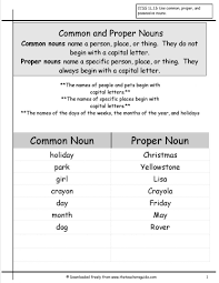 possessive nouns worksheets from the teachers guide noun lesson