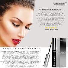 amazon com new york biology eyelash growth serum 3 5ml beauty