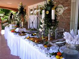 home design glamorous decorating a buffet table for