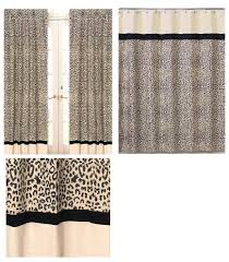 Cheetah Print Curtains by Bathroom Stunning Picture Of Bathroom Decoration Using Brown