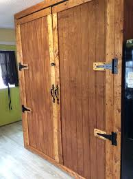 Barn Door Cabinets Barn Door Cabinets To Hide Washerdryer In The Kitchen Fords Front