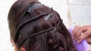 hair steila simpl is pakistan simple hairstyle for party wedding youtube