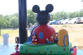 mickey mouse clubhoue 1st birthday cake lolo u0027s cakes u0026 sweets