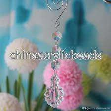 Plastic Crystals For Chandeliers Chandelier Acrylic Plastic Crystals Lamp Prisms Parts Hanging