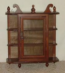wall mounted curio cabinet small wall mounted curio cabinet small wood glass curio cabinet wall