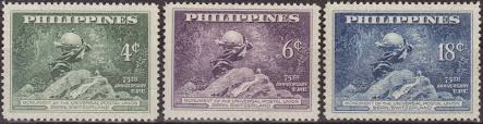Philippine Republic Sts 1949 Universal Postal Union 75th Sts From All The Worldsts From All The