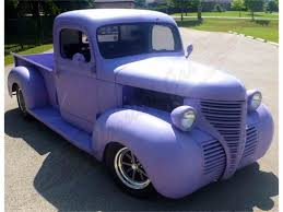 Classic Chevrolet Trucks By Year - classic plymouth pickup for sale on classiccars com 4 available