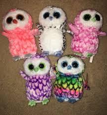 ty beanie boo justice claire u0027s hoot hoot u0027re cute owl crew