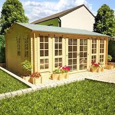 Summer House In Garden - garden log cabins pyihome com