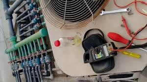 york ac condenser fan motor replacement how to replace york ac air conditioner condenser fan motor l