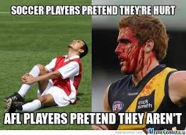Soccer Player Meme - soccer players afl players by nightbreed meme center