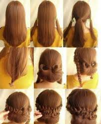 easy long hairstyles updos 2 minute elegant bun hairstyle easy