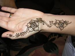 small henna tattoo design on hand in 2017 real photo pictures