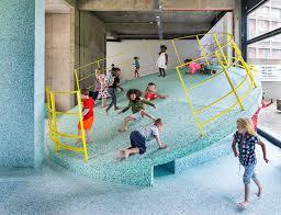 playground design assemble s brutalist playground at the vitra design museum