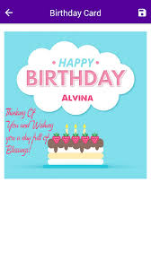 name on birthday card android apps on google play