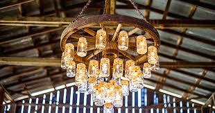 wagon wheel ceiling fan light 3 pendant light fixture contemporary mason jar chandelier kitchen