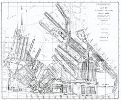 New York Train Station Map by New York Naval Shipyard