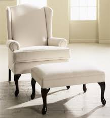 Best Leather Chair And Ottoman Furniture Charming White Brightly Colored Accent Chair With