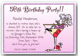 wording for 50th birthday party invitation choice image