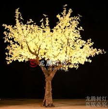 new products 2016 wholesale warm white outdoor artificial trees