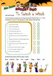 english teaching worksheets scooby doo