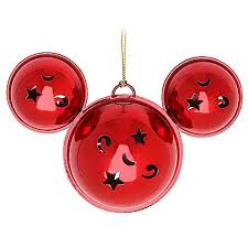 disney ornament mickey mouse ears jingle bells
