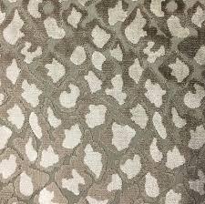 leopard fabric hendrix leopard pattern cut velvet upholstery fabric by the yard