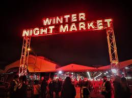top food stalls at qvm winter market melbourne