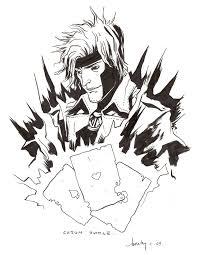 gambit by becky cloonan in brian keohan u0027s x men 14 x factor