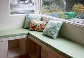 Comfy In The Kitchen by Kitchen Comfy Banquette Seating In The Kitchen Area With Open