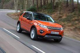 orange land rover discovery long term test review land rover discovery sport pictures