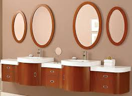 Oval Bathroom Mirror by Oval Bathroom Mirrors Wooden