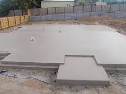 three types of concrete foundations used for homes
