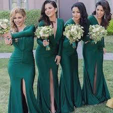green bridesmaid dresses sleeve emerged green bridesmaid dresses modest