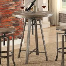 Adjustable Bar Table Industrial Adjustable Bar Table Set Bistro And Bar Table Sets