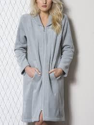 peignoir de chambre robe de chambre garance zip mauve boutique de
