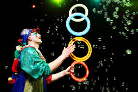 birthday clowns it tougher than you think i ll take that circus clown act clown performance for kids on birthday