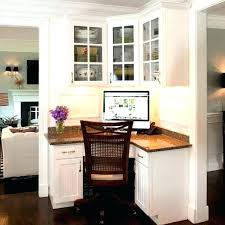 Corner Desk Office Furniture Corner Desk Cabinet Lovable Built In Ideas Charming Home Office