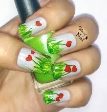 easy nail art tutorial for beginners cute heart flowers starrynail