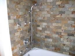Bathroom Shower Floors Enchanting Shower Floor Tile Wall And Master Bath Designs At For