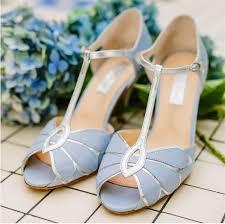 light blue wedding flats rachel simpson mimosa powder blue leather edressit