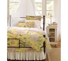 Bed Frame Skirt Voile Bed Skirt Pottery Barn