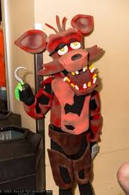 foxy costume pirate fox hat foxy five nights at freddy s inspired scary