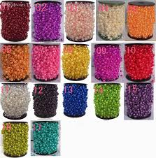 best wholesale 60meters pearl spray garland wedding tree