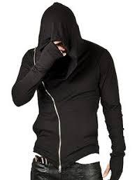 assassins style hooded sweatshirt male fashion