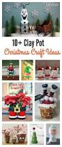 10 creative clay pot christmas craft ideas clay creative and craft