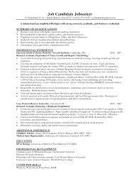 sample resume format for lecturer job sample resume biology teacher frizzigame resume for biology tutor frizzigame