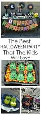Ideas For A Halloween Birthday Party by 25 Best Halloween Birthday Decorations Ideas On Pinterest