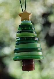 scrap ribbon tree ornaments craft ornament and